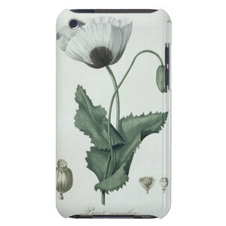 Papaver Somniferum from 'Phytographie Medicale' by iPod Touch Case-Mate Case