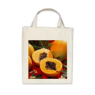 Papaya Tote Bags