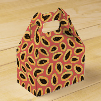 Papaya Fruit Favour Box