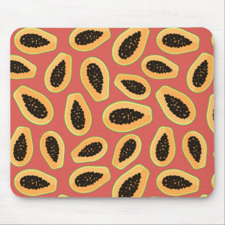 Papaya Fruit Mouse Mat