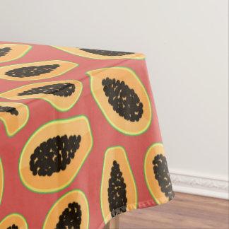 Papaya Fruit Tablecloth