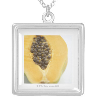 Papaya Silver Plated Necklace