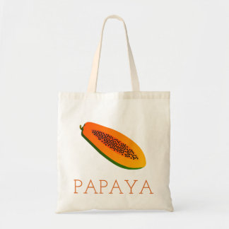 Papaya Tote Bag