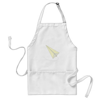 Paper Airplane Adult Apron