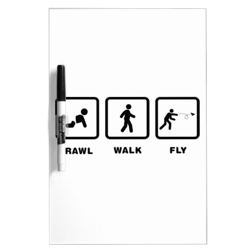 Paper Airplane Enthusiast Dry-Erase Whiteboards