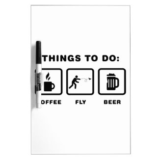 Paper Airplane Enthusiast Dry-Erase Whiteboard