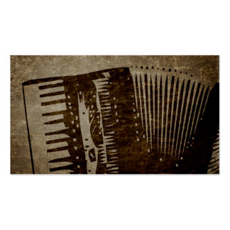 paper bag accordion. pack of standard business cards