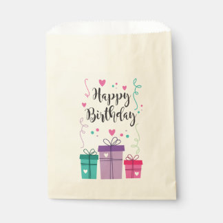 Paper bag Happy Birthday Favour Bags