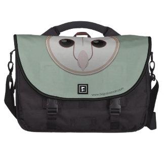 Paper Barn Owl Laptop Bags
