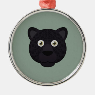 Paper Black Panther Christmas Ornament