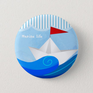 Paper Boat button