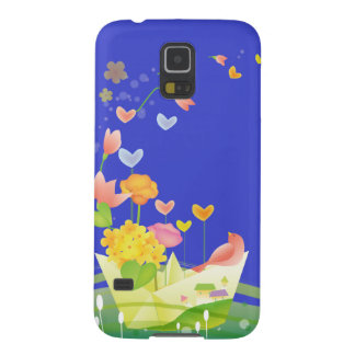 Paper Boat Galaxy S5 Cover