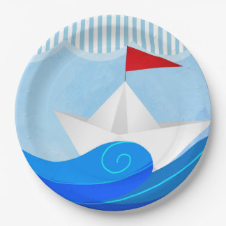 Paper Boat paper plates