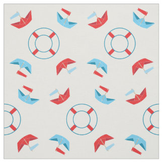 Paper Boats | Fabric