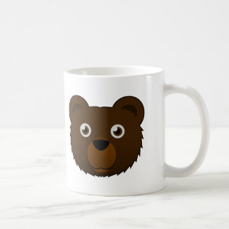 Paper Brown Bear Coffee Mug