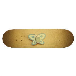 Paper butterfly skate board deck