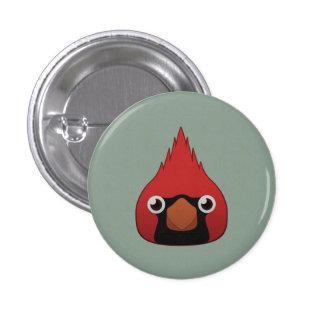Paper Cardinal Button