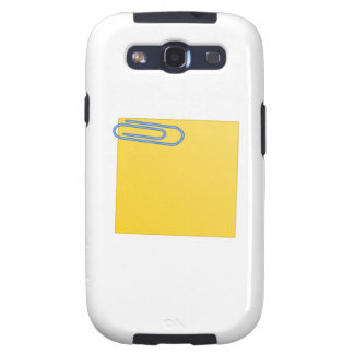Paper Clip and Note Samsung Galaxy S3 Covers
