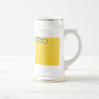 Paper Clip and Note Mugs