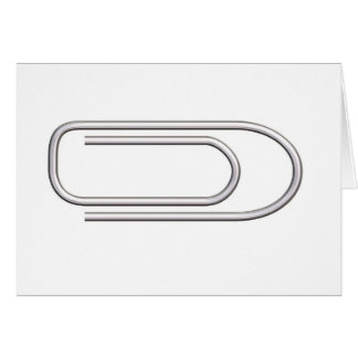Paper Clip Greeting Card