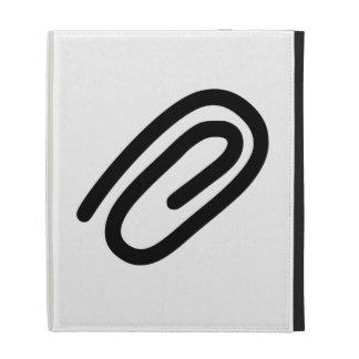 Paper Clip iPad Folio Covers