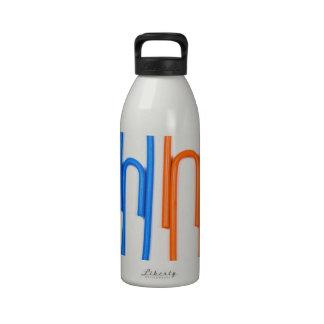 paper clip design water bottles