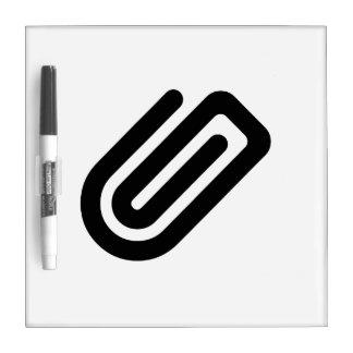 Paper Clip Dry-Erase Board
