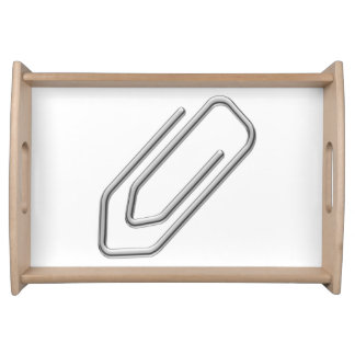 Paper Clip Food Tray