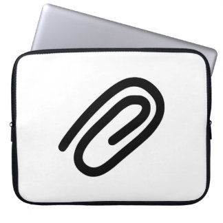Paper Clip Laptop Computer Sleeves