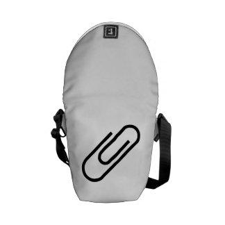 Paper Clip Courier Bags