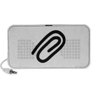 Paper Clip Portable Speaker