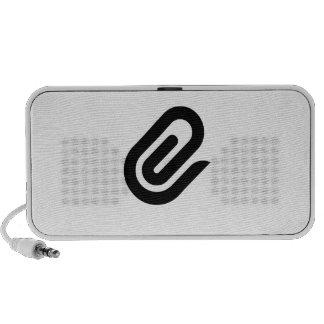 Paper Clip Notebook Speakers
