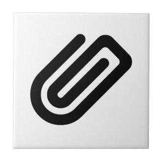 Paper Clip Ceramic Tiles