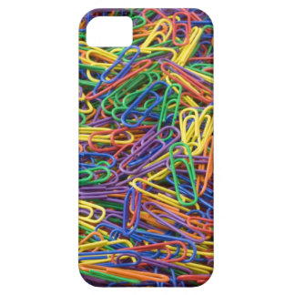 Paper Clips Background Barely There iPhone 5 Case