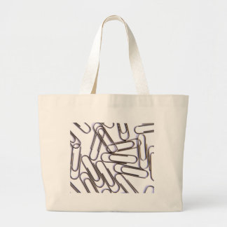 Paper Clips Canvas Bags