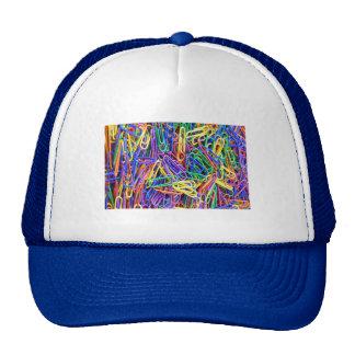 Paper clips trucker hat