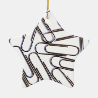 Paper Clips Christmas Tree Ornaments