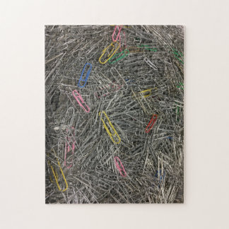 Paper Clips in a pile puzzle