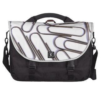 Paper Clips Laptop Bag