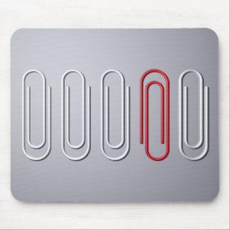 Paper Clips Mouse Pad