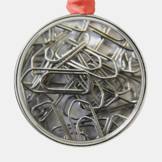 Paper clips Silver-Colored round decoration