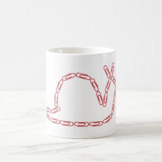 Paper Clips Snail Mug