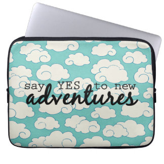 Paper Clouds Laptop Sleeve