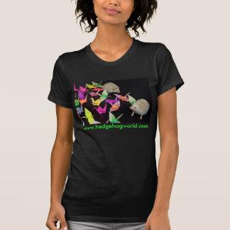 Paper crane hedgehogs shirt
