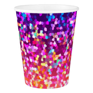 Paper Cup Glitter Graphic