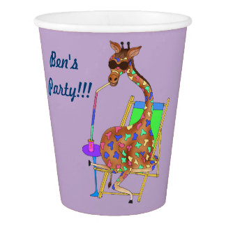 "Paper Cup ""Rainbow Party!"""