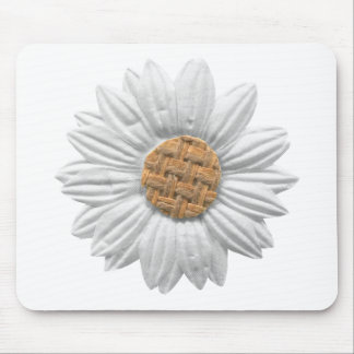 PAPER DAISY FLOWER DIGITAL REALISM SCRAPBOOKING NA MOUSE PAD