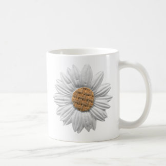 PAPER DAISY FLOWER DIGITAL REALISM SCRAPBOOKING NA COFFEE MUGS