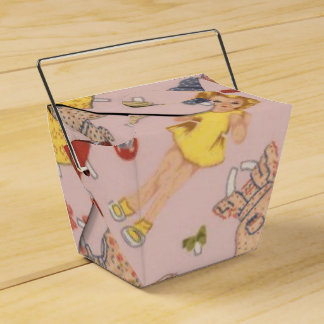 paper doll favour box