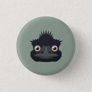 Paper Emu 3 Cm Round Badge